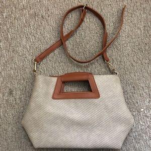 Handle Bag with Shoulder Strap ✨vegan leather